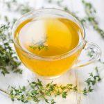 Kakukkfű és a belőle készült tea.