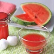 Vízhajtó tea és arcfrissítő görögdinnyéből