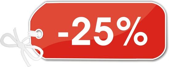étiquette -25%