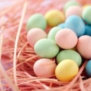Házilag festett tojások húsvétra