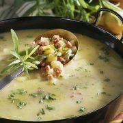 Tárkonyból készült finomságok: tárkonyecet és tárkonyos burgonyaleves