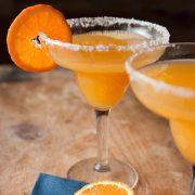 Mandarinos vodkazselé szilveszterre