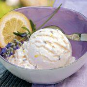Nyári élvezet: citromos, levendulás jégkrém