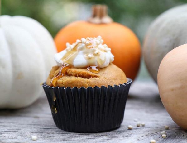 Igazi őszi csemege: sütőtökös muffin.