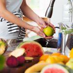 Egészséges zöldségmosók