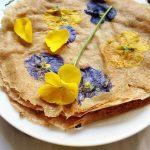Életvidámító, virágos ételek