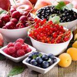 Néhány nyáron termő gyümölcs