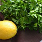 Petrezselymes-citromos krém az egészségesebb bőrért