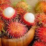 Szőrös rambután, amely többféle gyümölcs ízét is eszünkbe juttatja