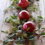 Gyógynövények, fűszernövények és gyümölcsök a tökéletes karácsonyi asztal díszítéséhez