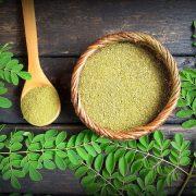 Az antioxidánsokban gazdag moringa