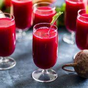 A céklalé vitamin- és ásványianyag-bomba