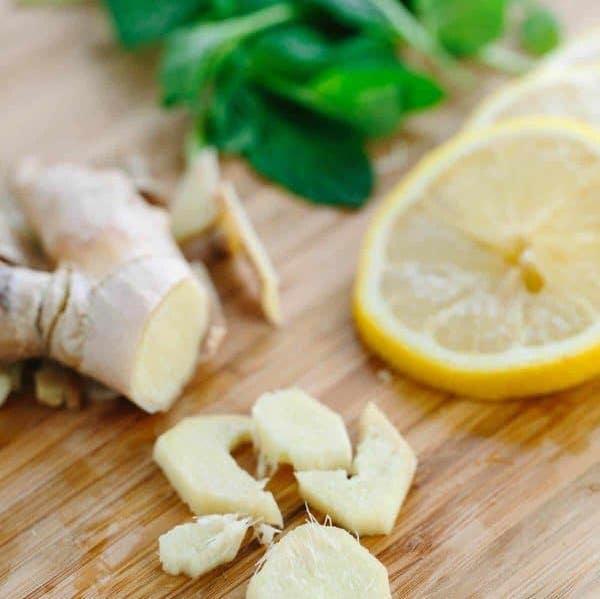 Gyömbér, citrom és borsmenta – hasznos természetes módszerek emésztési problémákra.