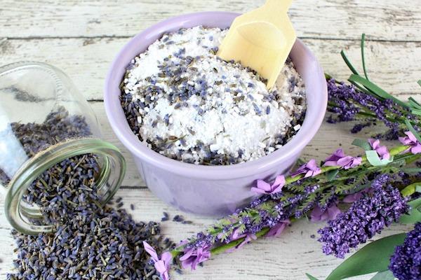 Levendulás só készítése fülgyulladás kezelésére.