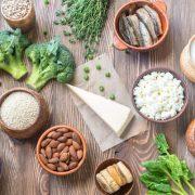 Kalciumdús táplálékok
