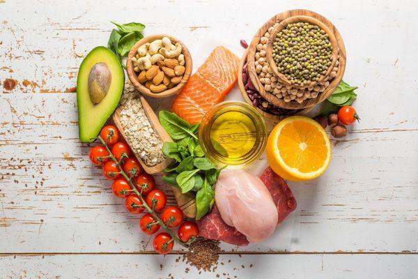 Immunrendszert erősítő ételek, avokádó, spenót, lazac, csirke- és marhahús, olajos magvak, zabpehely, paradicsom, narancs, olívaolaj.